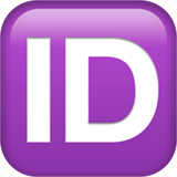 Id Button (Symbols - Arts & Crafts)