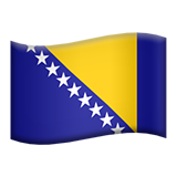 Bosnia & Herzegovina (Flags - Country-Flag)