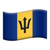 Barbados (Flags - Country-Flag)
