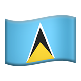 St. Lucia (Flags - Country-Flag)