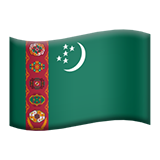 Turkmenistan (Flags - Country-Flag)