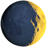 Waxing Crescent Moon (Travel & Places - Sky & Weather)