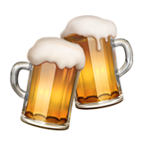 Clinking Beer Mugs (Food & Drink - Drink)