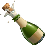 Bottle With Popping Cork (Food & Drink - Drink)
