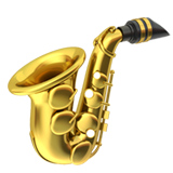 Saxophone (Objects - Musical-Instrument)
