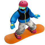 Snowboarder (Smileys & People - Person-Sport)