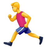 Person Running (Smileys & People - Person-Activity)
