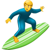 Person Surfing (Smileys & People - Person-Sport)