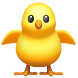 Front-Facing Baby Chick (Animals & Nature - Animal-Bird)