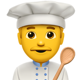 Man Cook (Smileys & People - Person-Role)
