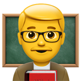 Man Teacher (Smileys & People - Person-Role)