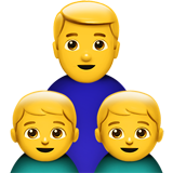 Family: Man, Boy, Boy (Smileys & People - Family)