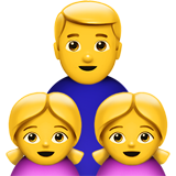 Family: Man, Girl, Girl (Smileys & People - Family)