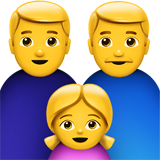 Family: Man, Man, Girl (Smileys & People - Family)