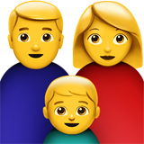 Family: Man, Woman, Boy (Smileys & People - Family)