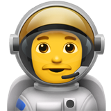 Man Astronaut (Smileys & People - Person-Role)