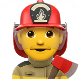 Man Firefighter (Smileys & People - Person-Role)