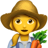 Woman Farmer (Smileys & People - Person-Role)