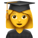Woman Student (Smileys & People - Person-Role)