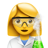 Woman Scientist (Smileys & People - Person-Role)