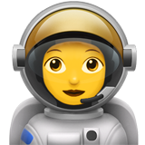 Woman Astronaut (Smileys & People - Person-Role)
