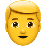 Blond-Haired Person (Smileys & People - Person-Role)