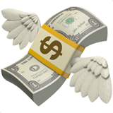 Money With Wings (Objects - Money)