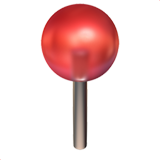 Round Pushpin (Objects - Office)