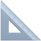 Triangular Ruler (Objects - Office)