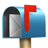 Open Mailbox With Raised Flag (Objects - Mail)