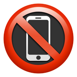 No Mobile Phones (Symbols - Warning)