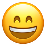 Grinning Face With Smiling Eyes (Smileys & People - Face-Positive)