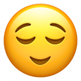 Relieved Face (Smileys & People - Face-Neutral)