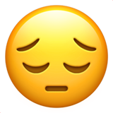 Pensive Face (Smileys & People - Face-Neutral)