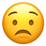 Worried Face (Smileys & People - Face-Negative)
