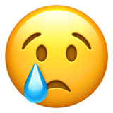 Crying Face (Smileys & People - Face-Negative)