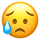 Sad But Relieved Face (Smileys & People - Face-Neutral)