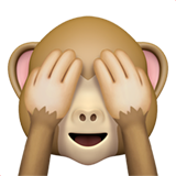 See-No-Evil Monkey (Smileys & People - Monkey-Face)