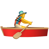 Person Rowing Boat (Smileys & People - Person-Sport)