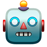 muka robot (Smileys & People - Face-Fantasy)