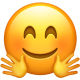 Hugging Face (Smileys & People - Face-Positive)