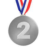 2Nd Place Medal (Activities - Award-Medal)