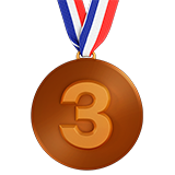 3Rd Place Medal (Activities - Award-Medal)