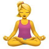 Person In Lotus Position (Smileys & People - Person-Activity)
