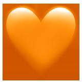🧡 oranges Herz - Emoji Bedeutung