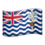 British Indian Ocean Territory Emoji (Apple)
