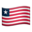 Liberia Emoji (Apple)