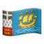 St. Pierre & Miquelon Emoji (Apple)