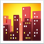 Cityscape At Dusk Emoji (Apple)