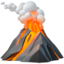 Volcano Emoji (Apple)